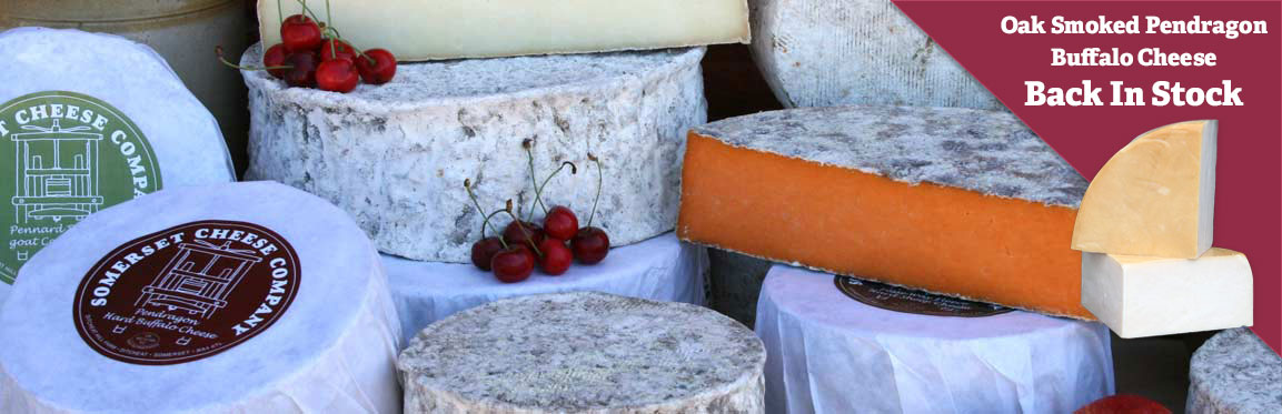7 Award Winning Cheeses from the Somerset Cheese Company