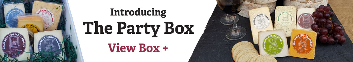 Cheese Party Box - A great cheese selection box ideal for parties and larger families