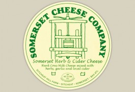 Somerset Herb And Cider Cheese Label