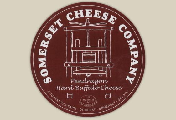 Pendragon Buffalo Cheese Label