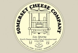 Six Spires Cheese Label