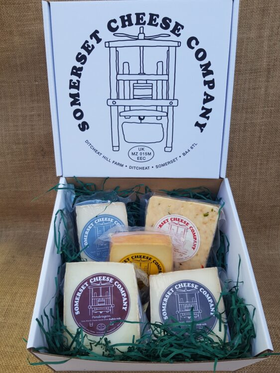 Taster selection cheese box
